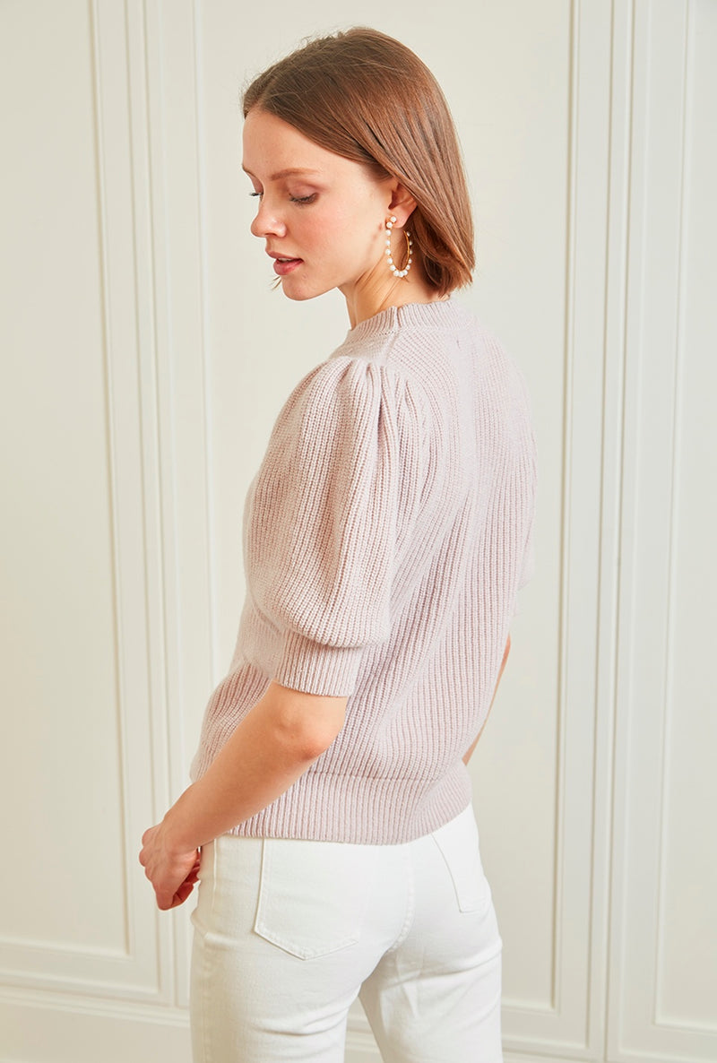 Cleo Pullover - Blush