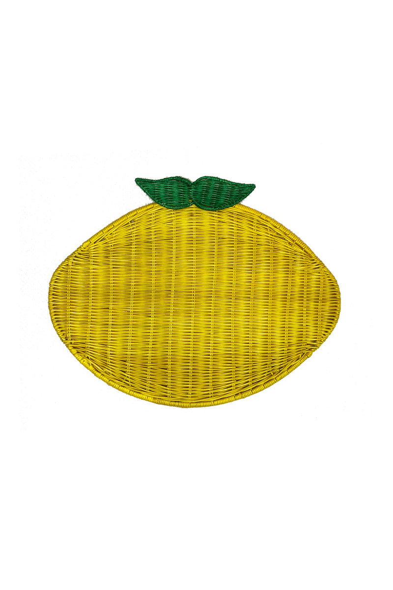 Lemon Placemat - Yellow