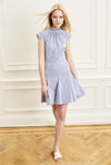 Cannes Dress - Blue Stripe