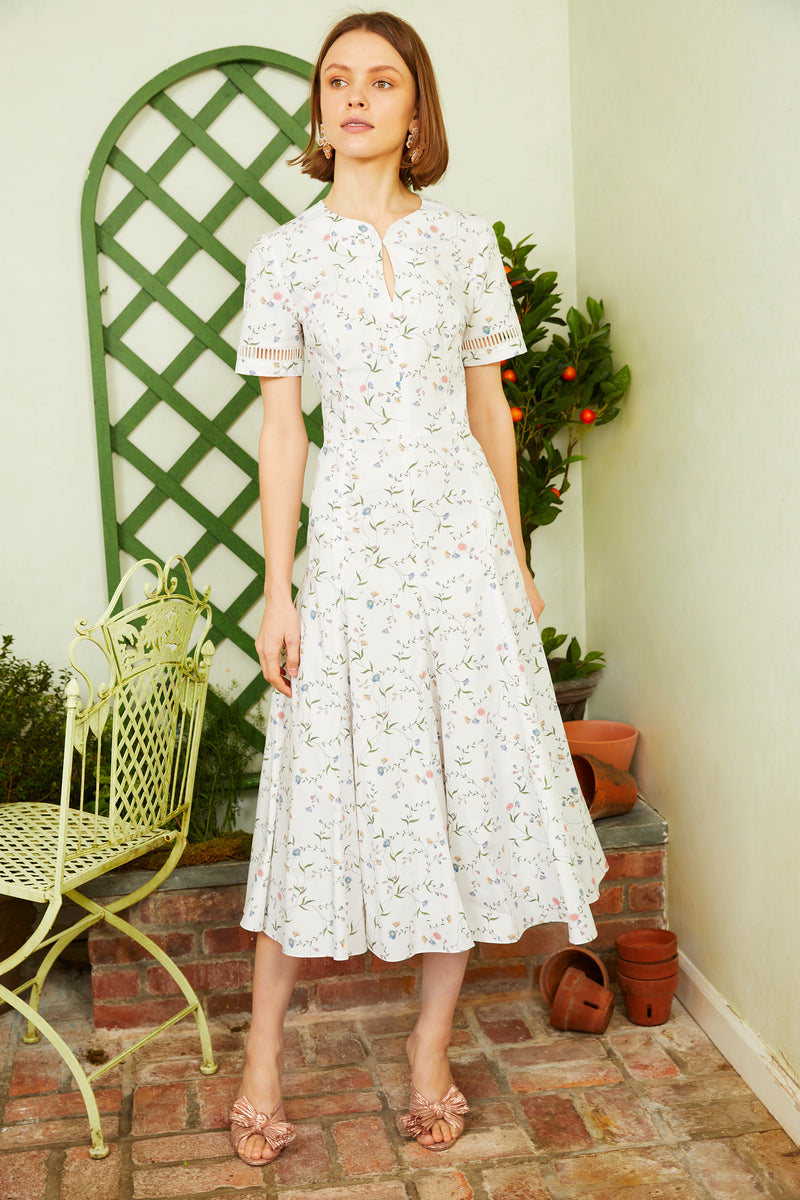 Magnolia Dress - Floral Vine