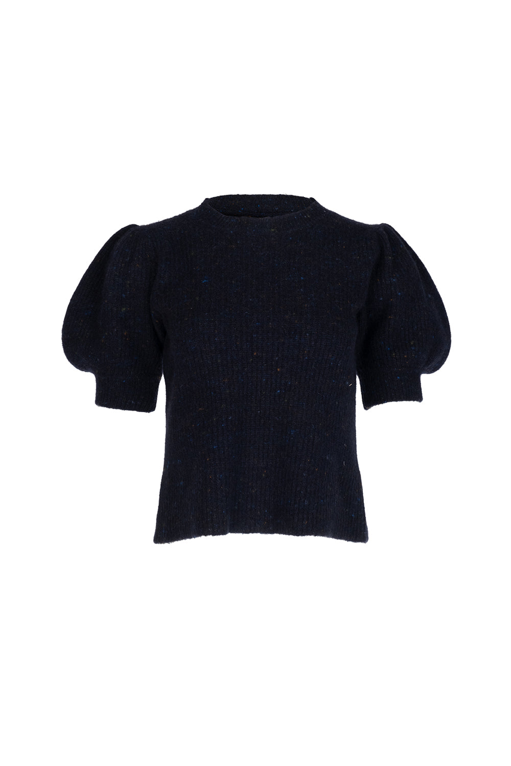 Cleo Pullover - Navy Fleck