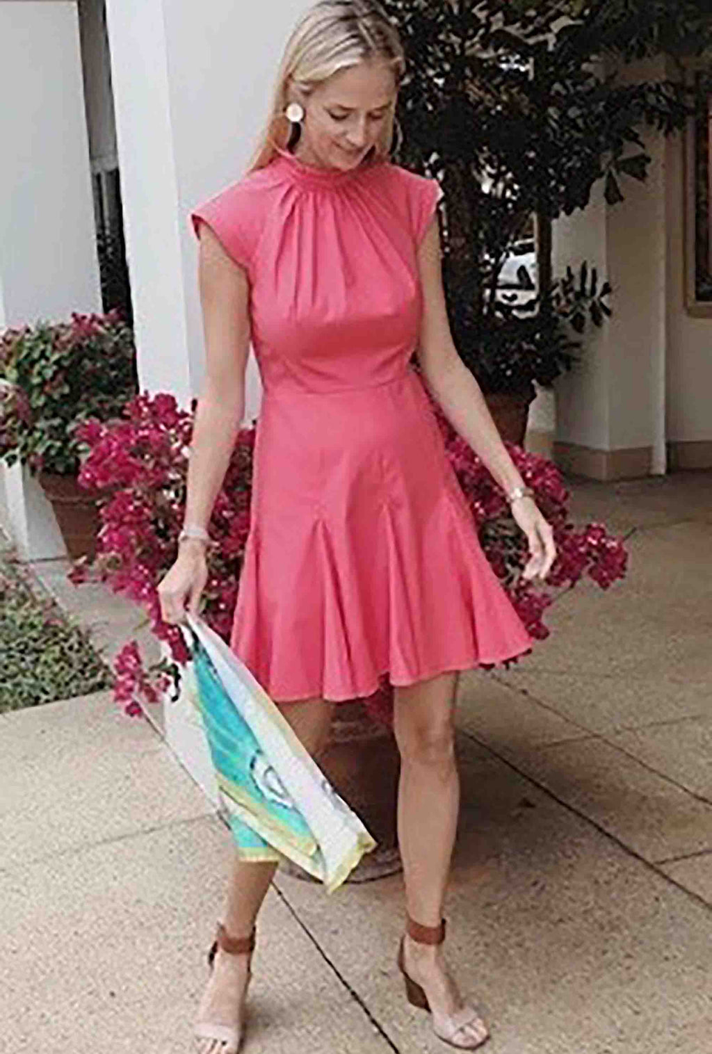 Cannes Dress - Coral