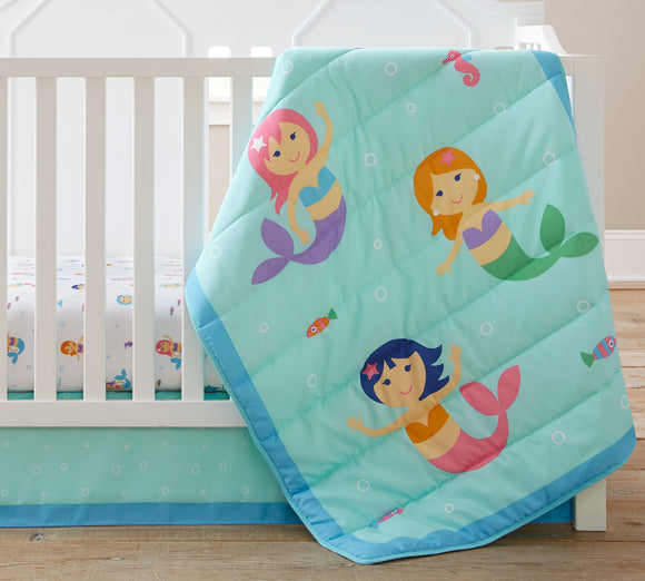 Mermaids 3 pc Bed in a Bag