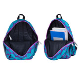 Wildkin Big Dot Aqua 15 Inch Backpack