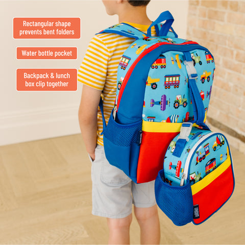 Trains, Planes & Trucks Pack-it-all Backpack