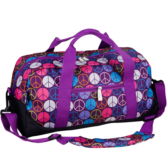 Peace Signs Overnighter Duffel Bag