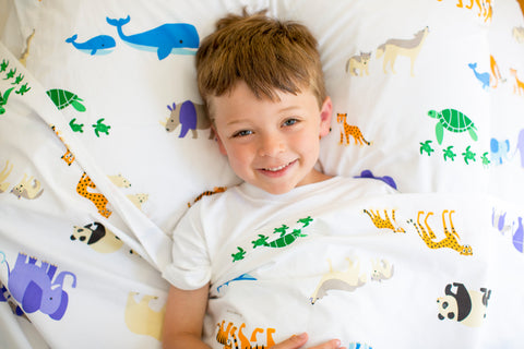 Endangered Animals Sheet Set