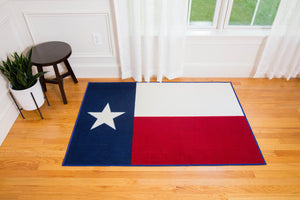 State of Mind Texas State Flag 39x59 in. Rug