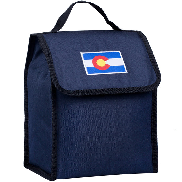 State of Mind Colorado Flag Lunch Bag - Deep Blue