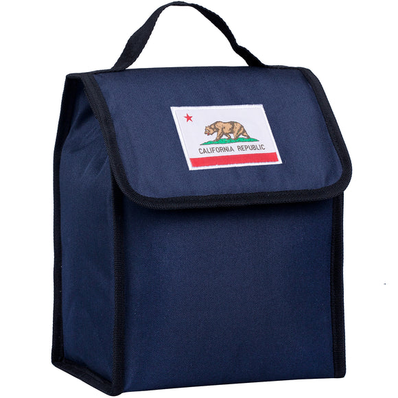 State of Mind California Flag Lunch Bag - Deep Blue