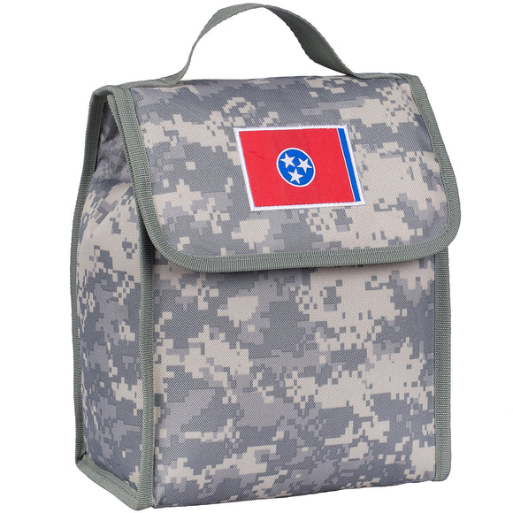 State of Mind Tennessee Flag Lunch Bag - Digital Camo