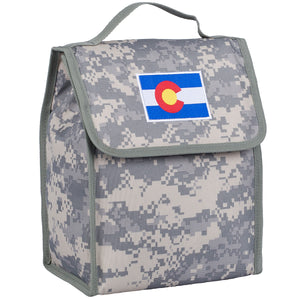 State of Mind Colorado Flag Lunch Bag - Digital Camo