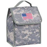 State of Mind USA Flag Lunch Bag - Digital Camo