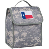 State of Mind Texas Flag Lunch Bag - Digital Camo