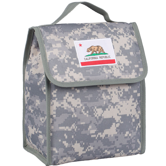 State of Mind California Flag Lunch Bag - Digital Camo