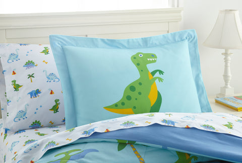 Dinosaur Land Cotton Bed in a Bag