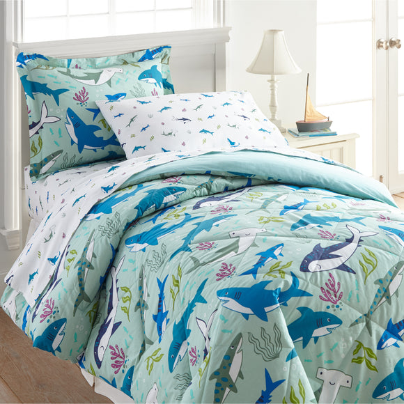 Shark Attack Cotton Bed in a Bag