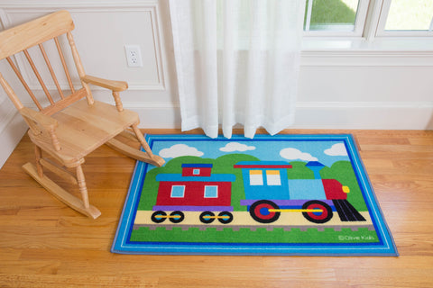 Trains, Planes, Trucks Rug