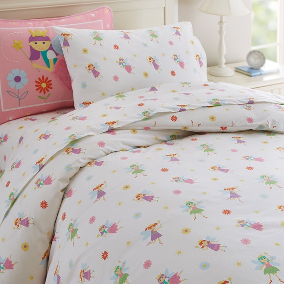 Fairy Princess Duvet Cover