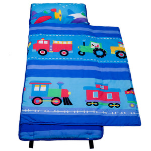 Trains, Planes, Trucks Cotton Nap Mat