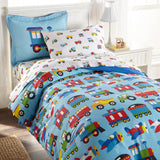 Trains, Planes & Trucks 100% Cotton Duvet Cover