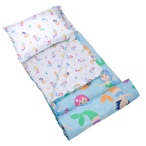 Mermaids Microfiber Sleeping Bag w/ Pillowcase