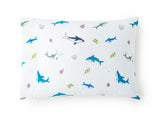 Shark Attack 100% Cotton Pillowcase