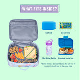 Butterfly Garden Blue Lunch Box