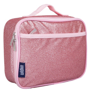 Pink Glitter Lunch Box