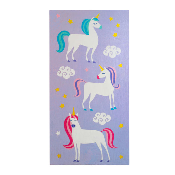 Unicorn 100% Cotton Beach Towel