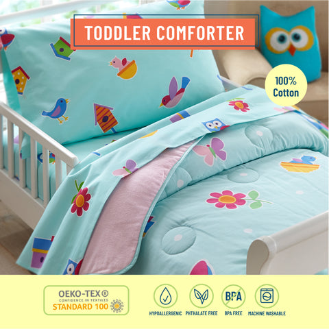 Birdie Lightweight Cotton Comforter - Toddler