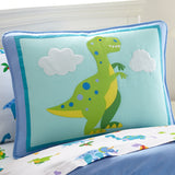 Dinosaur Land Cotton Pillow Sham