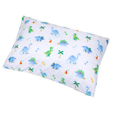 Dinosaur Land Microfiber Pillow Case