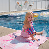 Magical Unicorns 100% Cotton Beach Towel