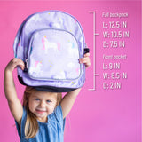 Unicorn 12 Inch Backpack