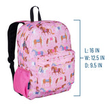 Horses 16 Inch Backpack