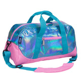 Mermaid Scales Overnighter Duffel Bag