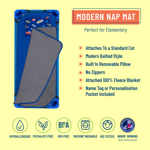 Out of this World Modern Nap Mat