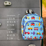 Trains, Planes & Trucks 12 Inch Backpack