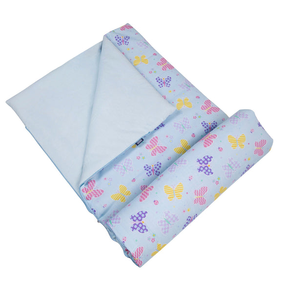 Butterfly Garden Blue Original Sleeping Bag