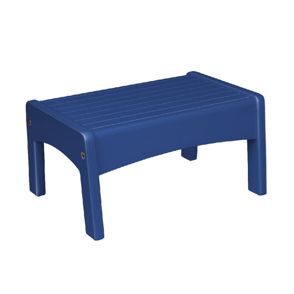 Slatted Step Stool - Navy Blue