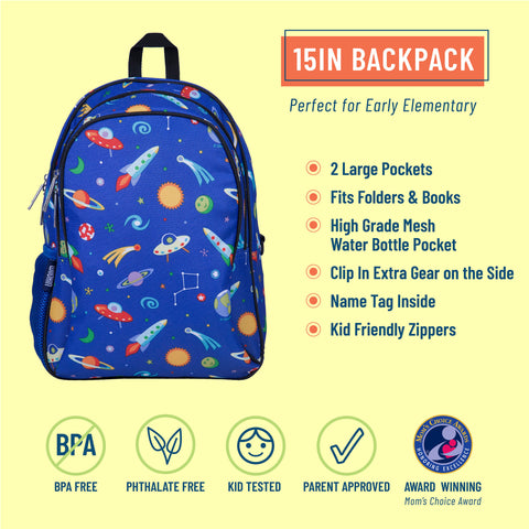 Out of this World 15 Inch Backpack