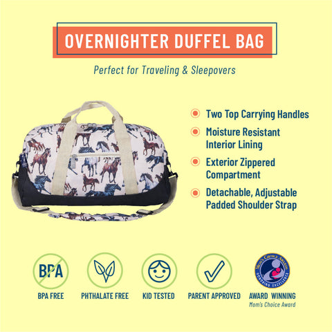 Horse Dreams Overnighter Duffel Bag