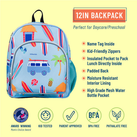Surf Shack 12 Inch Backpack