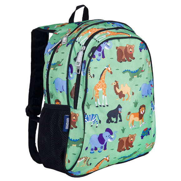 Wild Animals 15 Inch Backpack