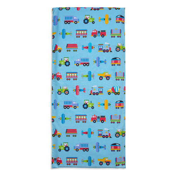 Trains, Planes & Trucks Vinyl Mat Cover
