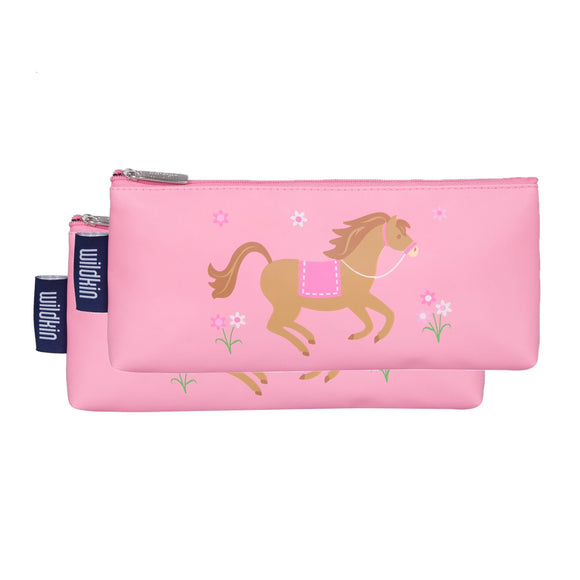 Horses Pencil Pouches (2 pk)