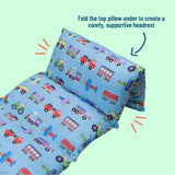 Trains, Planes & Trucks Pillow Lounger