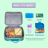 Blue Glitter Lunch Box