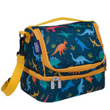 Jurassic Dinosaurs Two Compartment Lunch Bag